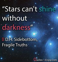D.H. Sidebottom, Fragile Truths
