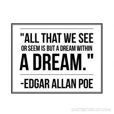 Edgar Allan Poe: quote