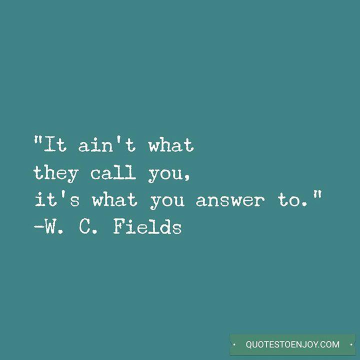 W. C. Fields