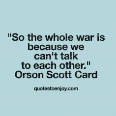 Orson Scott Card