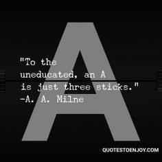 Alan A. Milne