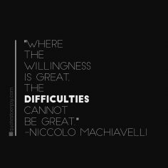 Niccolo Machiavelli: quote
