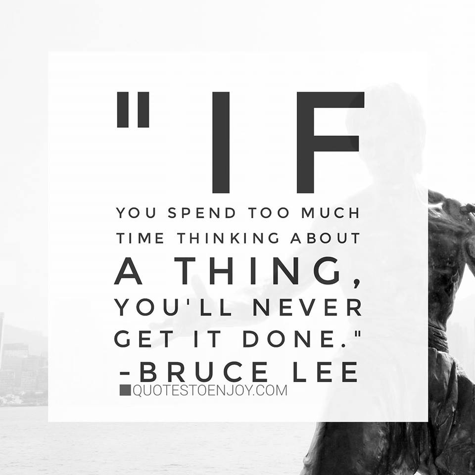 Reposted from @brucelee If you spend too much time