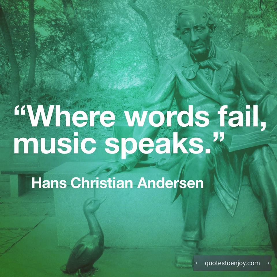 where-words-fail-music-speaks | QuotesToEnjoy